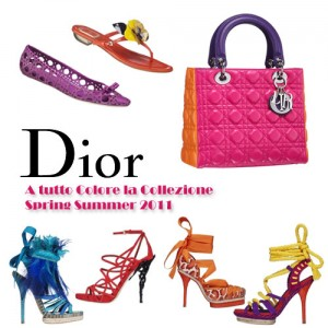Gli accessori esagerati della P/E di Christian Dior