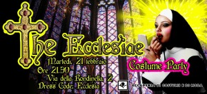 "Costume Party in Accademia "" The Ecclesiae"""