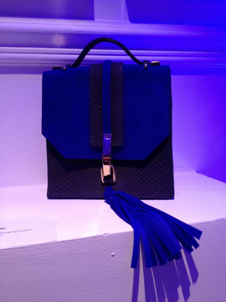 Be Blue Be Balestra creazione Atelier Greta Boldini