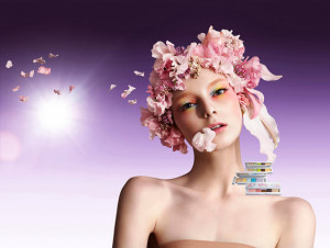 Focus on Beauty. Luce e arcobaleno per Blossom Dream Collection by Shu Uemura
