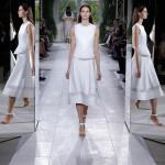 Parigi Fashion Week. Tagli geometrici per la donna sporty chic di Balenciaga