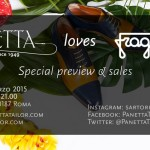 Panetta Tailor Loves Fragiacomo