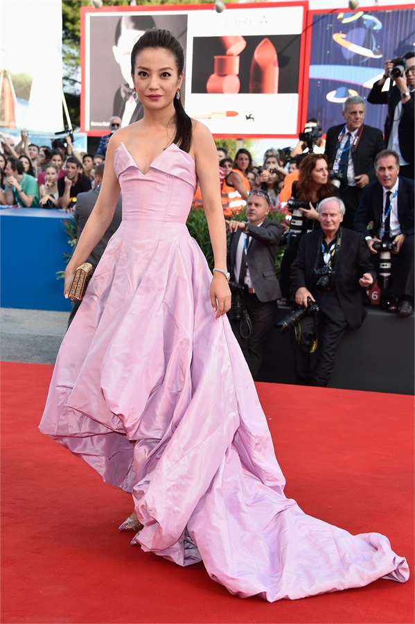 zhao wei in westwood couture